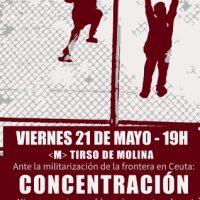 [Espanha] Ante a militarização da fronteira em Ceuta