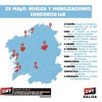 [Espanha] 25 de maio: Greve e mobilizações contra o Consórcio IeB