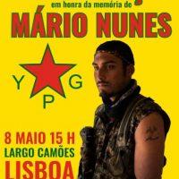[Portugal] Concentração em memória de Mário Nunes - 8 de Maio (Lisboa)