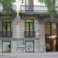 [Espanha] Consulado da Colômbia em Barcelona amanhece pichado