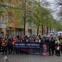 [Alemanha] Berlim: Protesto pela Liberdade de Mumia Abu-Jamal | Libertem Todos
