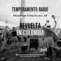 [Argentina] Temperamento n° 54 – Especial Revolta na Colômbia