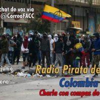 "Rádio Pirata del Caribe | ""Colômbia rebelde"", bate-papo com compas da ULRT-AIT"