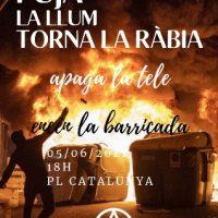 Aumento na conta de luz. Na Espanha, protestos de rua à vista. No Brasil...