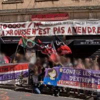 [França] Resumo da manifestação antifascista de 29 de maio em Lyon