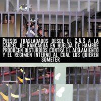 [Chile] Compas em greve de fome na prisão de Rancagua promovem distúrbios contra o regime interno ao qual o Estado quer submetê-los