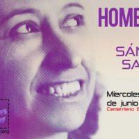 [Espanha] Homenagem a Lucía Sánchez Saornil no aniversário de sua morte em Valência