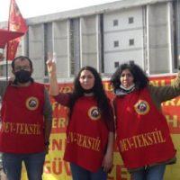 [Turquia] Para a readmissão das trabalhadoras do SML Etiket