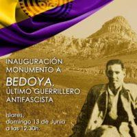 [Espanha] Inauguração da escultura dedicada a Bedoya