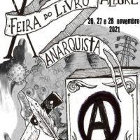 Datas da realização da X Feira do Livro Anarquista de Porto Alegre (RS)