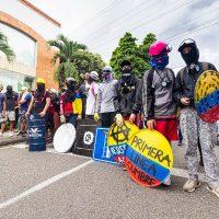 Primeira Linha Anarquista Vanguarda da Greve Nacional na Colômbia