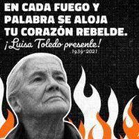 [Chile] Palavras desde as prisões por Luisa Toledo Sepúlveda