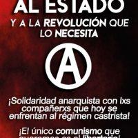"""[Espanha] Morte ao Estado e à """"revolução"""" que o necessita: solidariedade anarquista com os companheiros que protestam em Cuba"""