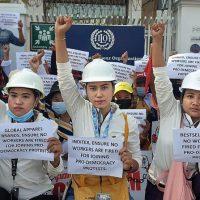 [Espanha] Campanha contra a repressão aos trabalhadores em Mianmar
