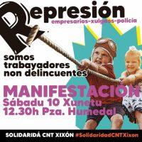 [Espanha] O Estado reprime novamente a luta anarco-sindical
