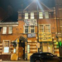 [Reino Unido] Squatter Take Camberwell Cop Shop (2.0)   Declaração completa