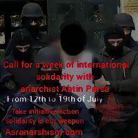 Convocação internacional para uma semana de solidariedade com o anarquista Abtin Parsa (de 12 à 19 de julho de 2021)