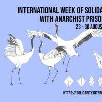 Convocatória para a Semana Internacional de Solidariedade com os Presos Anarquistas | 23 – 30 de agosto de 2021
