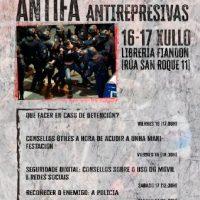 [Galícia] A Coruña, Jornadas Antirrepresivas