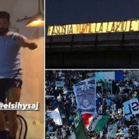 [Itália] Ultras da Lazio insultam Hysaj após novo reforço cantar música contra o fascismo
