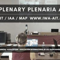 [Eslováquia] Relatório da primeira Plenária por videoconferência e do Congresso Extraordinário da Associação Internacional dos Trabalhadores (AIT)