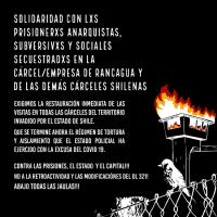 [Chile] Contra as prisões, o Estado e o capital!!!