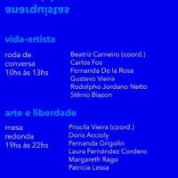 Encontro virtual | Anarquistas na América do Sul: Vida-artista | Arte e liberdade, 1° de setembro