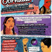 [Chile] Santiago: Jornada Anarcofeminista contra a violência de gênero