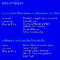 Encontro virtual   Educação Libertária na América do Sul, 18 de agosto