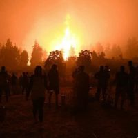 Auto-organização ou caos: os incêndios na Grécia