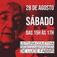 Encontro online | Leitura coletiva da obra de Luce Fabbri