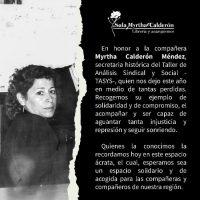 [Chile] Concepción | Novo espaço de discussão e difusão do anarquismo: Sala Myrtha Calderón