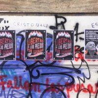 "[Chile] ""Liberdade aos presos da Revolta, mapuches, subversivos e anarquistas"""