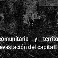 [Chile] Com ação comunitária e territorial combater a devastação do capital