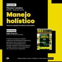 """[Espanha] 1° de outubro. Exibição do documentário """"Manejo Holística"""""""