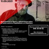 [Espanha] O anarcossindicalismo recorda Lucio Urtubia - Ruesta 11 de setembro