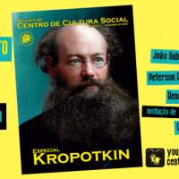 Live de lançamento da Revista do Centro de Cultura Social que homenageia Piotr Kropotkin