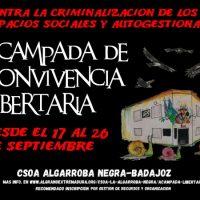 [Espanha] Acampamento Libertário para a Ocupação de Espaços Autogeridos