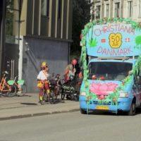 [Dinamarca] Christiania está celebrando os seus 50 anos de alma livre
