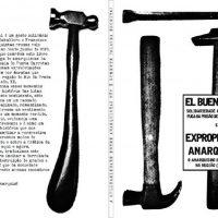 Lançamento livro solidário 'El Buen Trato' e 'Expropriação Anarquista'
