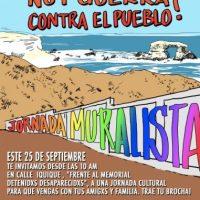 [Chile] Antofagasta: Jornada Muralista - 25 de setembro