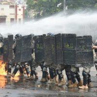 [Paraguai] Indígenas e camponeses enfrentam polícia durante protesto contra lei que pune invasão de terras privadas