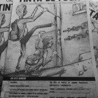 """[Chile] Saiu a edição número 1 do jornal anárquico """"Tinta de Fuga"""""""