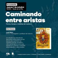 [Espanha] Apresentação do livro 'Caminando entre aristas'