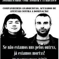 Aconteceu! 22 de agosto de 2021, Semana de Agitação Pelos Anarquistas Presos, Porto Alegre (RS).