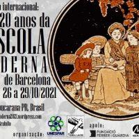 """Colóquio Internacional """"120 Anos da Escola Moderna de Barcelona"""" começa nesta terça-feira (26/10)"""