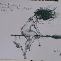 Ajude a construir a 1º Feira Feminista Anarquista de Porto Alegre (RS)!
